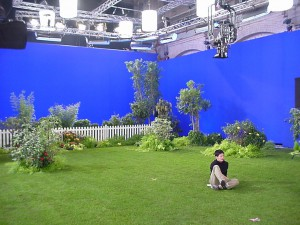 STUDIO BLUE SCREEN